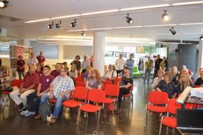 Guests in the break at Balassi Institute